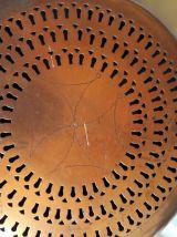 Chaufferette bassinoire en cuivre