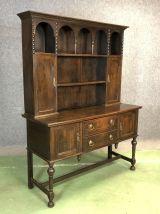 Welsh Dresser en chêne fin XIXème