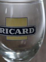 Ensemble de 3 pièces RICARD: carafe et 2 verres assortis
