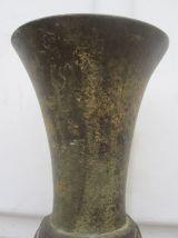 ancien vase bronze de chine