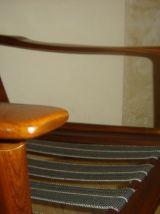 fauteuil années 60  scandinave