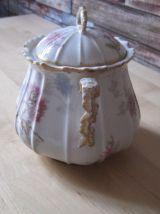 sucrier en porcelaine ancien France