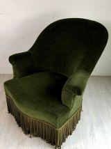 Fauteuil Crapaud vert