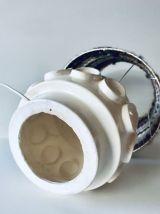 Lampe en céramique Space âge années 70