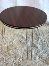 Petite table basse tripode – années 70