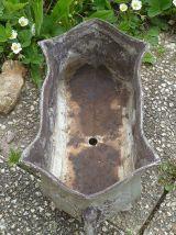 jardiniere  ancienne  en  fonte 1910-20