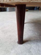 meuble à chaussures vintage avec casier de rangement