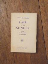 L'air et les Songes- Essai sur l'Imagination du Mouvement