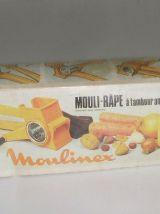 Rape A Fromage Orange Vintage Moulinex