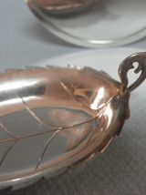 Flûtes à champagne argent 925 cristal taillé
