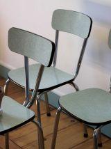 Trio de chaises Formica