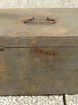 caisse en bois  ancienne , vintage