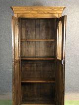 Bibliothèque Louis Philippe fin XIXème en châtaignier