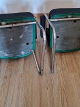 Paire de fauteuils Pullman