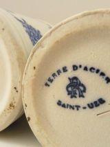 4 pots à épices en céramique Terre d'acier Saint-Uze.