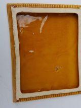 dessous de plat vallauris céramique jaune et verte années 60