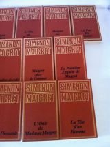 Lot de 22 romans G . SIMENON