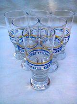 6 verres Publicitaires