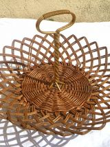 corbeille a fruits  , ancienne , vintage
