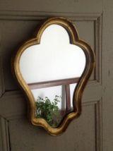 Petit miroir baroque