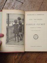 Les Vacances De La Famille Plumet- Magdeleine Du Genestoux