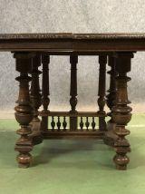 Table en chêne début XXème