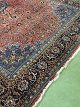 Grand tapis iranien en laine fait main - 4m22 x 2m82