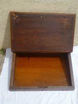 Pupitre ancien en bois , vintage