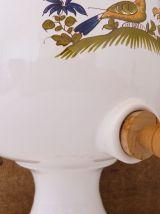 Vinaigrier en faïence Vieux Moustiers reproduction 18ème