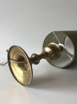 Lampe de table ancienne avec pied laiton