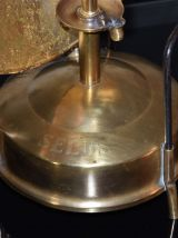 Lampe originale ancien chauffage suédois