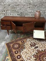 Enfilade anglaise  en teck années 60 Stonehill furniture