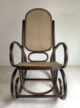 Rocking chair vintage style Thonet