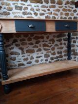 Console, meuble drapier