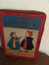 Trois boites en métal anciennes chocolats et  bonbons.