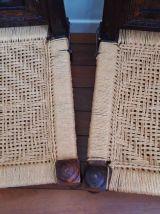 Paire de fauteuils tibétains