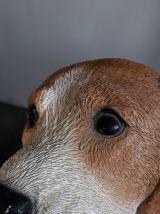 Chiot beagle en résine collector
