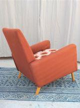 Fauteuil vintage années 60 scandinave