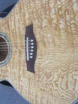 guitare electro acoustique Ibanez gaucher en parfait état