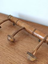 Porte manteaux 3 patères forme champignon