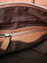 petit sac en cuir camel vintage TODS