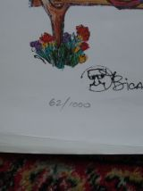 Lithographie de Jovan Obican, signée, 62/1000