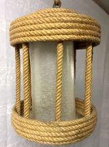 Suspension en corde années 60