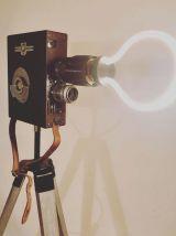 Lampe vintage Fernande Pathé - Atelier Monsieur Lumière