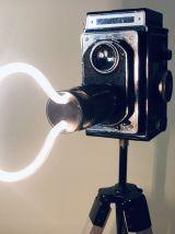 Lampe vintage Rebecca Zeiss - Atelier Monsieur Lumière