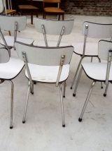 6 chaises en formica