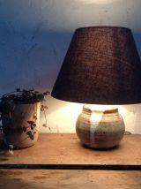Lampe céramique de Millau années 70