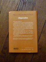 Disparaitre- Olivier et Patrick Poivre D'Arvor