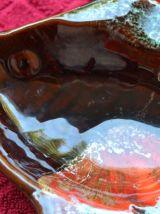 Jolie vide poche en forme de poisson Vallauris