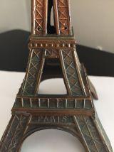 Tour Eiffel en métal année 1960 vintage